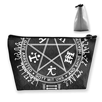 c2b2d63e7246 Amazon.com : Satan Satanic Hell Pentagram Storage Bag Organizer ...