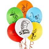 Dr Seuss Cat in the Hat Party Supplies - Themed Latex Balloon