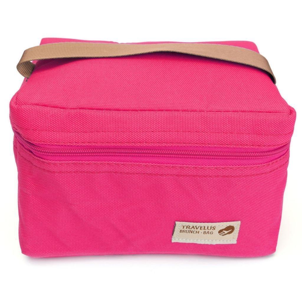 J * Myi picnic bag piccola borsa frigo portatile mini pranzo borse impermeabili porta pranzo merenda isolamento borse per campeggio viaggio 17X11X12cm Blue J*myi