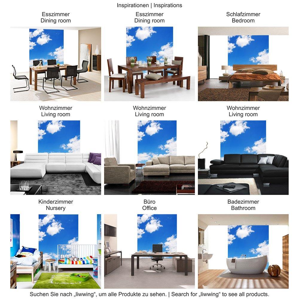 Vlies Fototapete 400x280 cm - Top ! PREMIUM PLUS Fototapeten Foto Tapete ! Wandbilder XXL Wandbild Bild Fototapeten PLUS Tapeten Wandtapete Wanddeko Wand Himmel Wolken Blau - no. 154 651d35