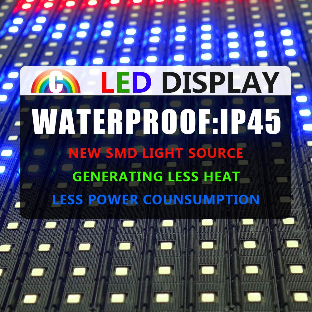CT Colorful P10 Outdoor WiFi Scrolling Texts Messages Board led Sign by Color Trade (Image #5)