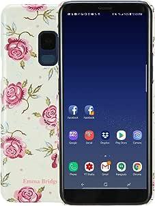 VQ Emma Bridgewater Slim Mobile Phone Case for Samsung Galaxy S9 - Rose & Bee