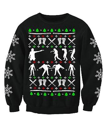 Walking Dead Christmas Sweater.Zombie Walkers Adults Walking Dead Inspired Novelty