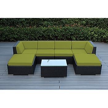 Amazon.com : Ohana 7-Piece Outdoor Patio Furniture ...