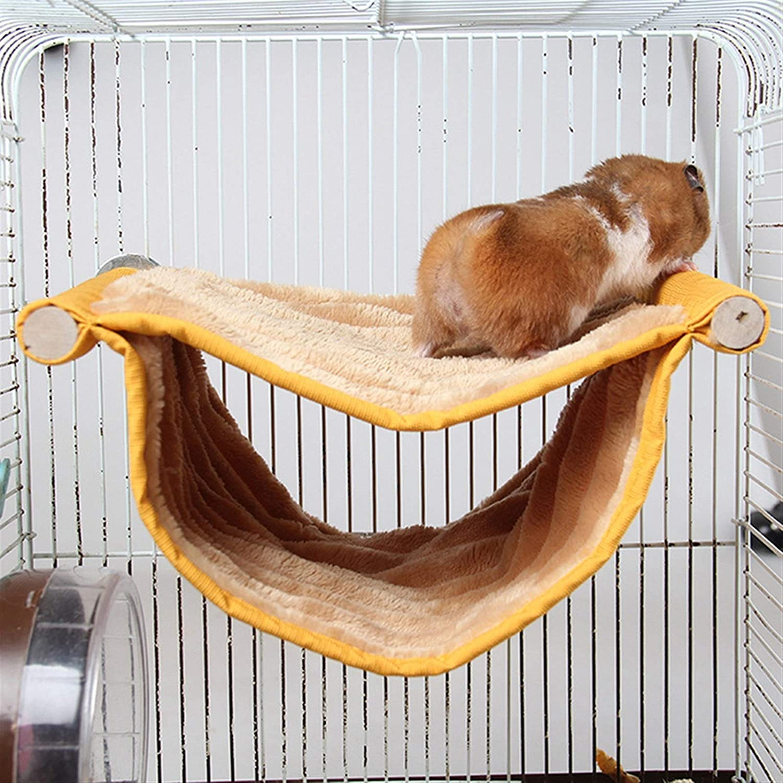 Hamster Casa Venta de la tapa del hámster hanging jaula dormir Nest Bed Rata del animal doméstico hámster conejillo de Indias de conejo jaula juguetes oscilación de alimentación for mascotas animales