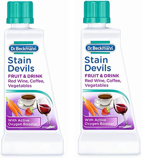 Dr Beckmann Stain Devils Removes Tea Red Wine Fruit /& Juice from Clothes 50g