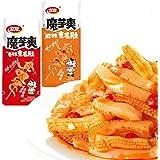 Weilong Latiao, Spicy Strip,Wei Long Konjac 20 Sachets / 360g Chinese Snack ,Chanmoyu,Moyushuang,卫龙辣条 馋魔芋 魔芋爽(Sichuan…