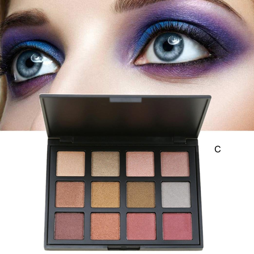 12 Colors Renaissance Eye Shadow Makeup Cosmetic Shimmer Matte Eyeshadow By DMZing (ES-02)