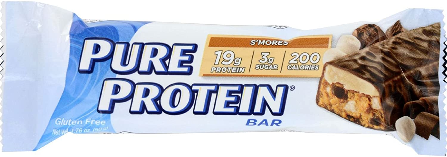 Pure Protein S Mores Bar Size 1.76z Pure Protein Pure Protein S Mores Bars 1.76z