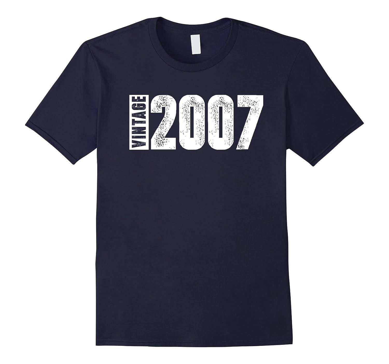 10th Birthday Vintage 2007 Tee Shirt-PL