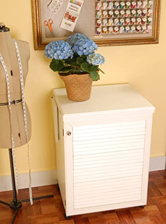 Amazon.com: Arrow Cabinet 98501 Sewnatra Sewing Cabinet, White