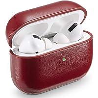 Airpods Pro fodralskydd, MAPUCE Airpod Pro fodral läder kompatibelt med Apple Airpods Pro fodral Air Pod Pro fodral…