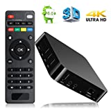 Android TV BOX, Wishpower MXQ Pro TV Box Android 5.1 Quad Core 1G/8G UHD 4K Android Box Smart TV BOX with HDMI DLNA