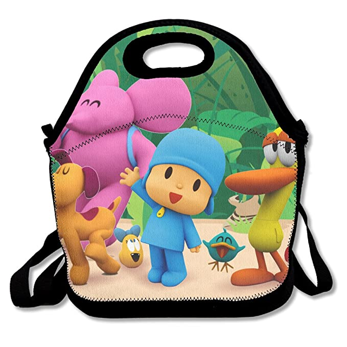 Amazon.com  Pocoyo And Friends Travel Tote Lunch Bag  Toys   Games 874ad9c56f4d