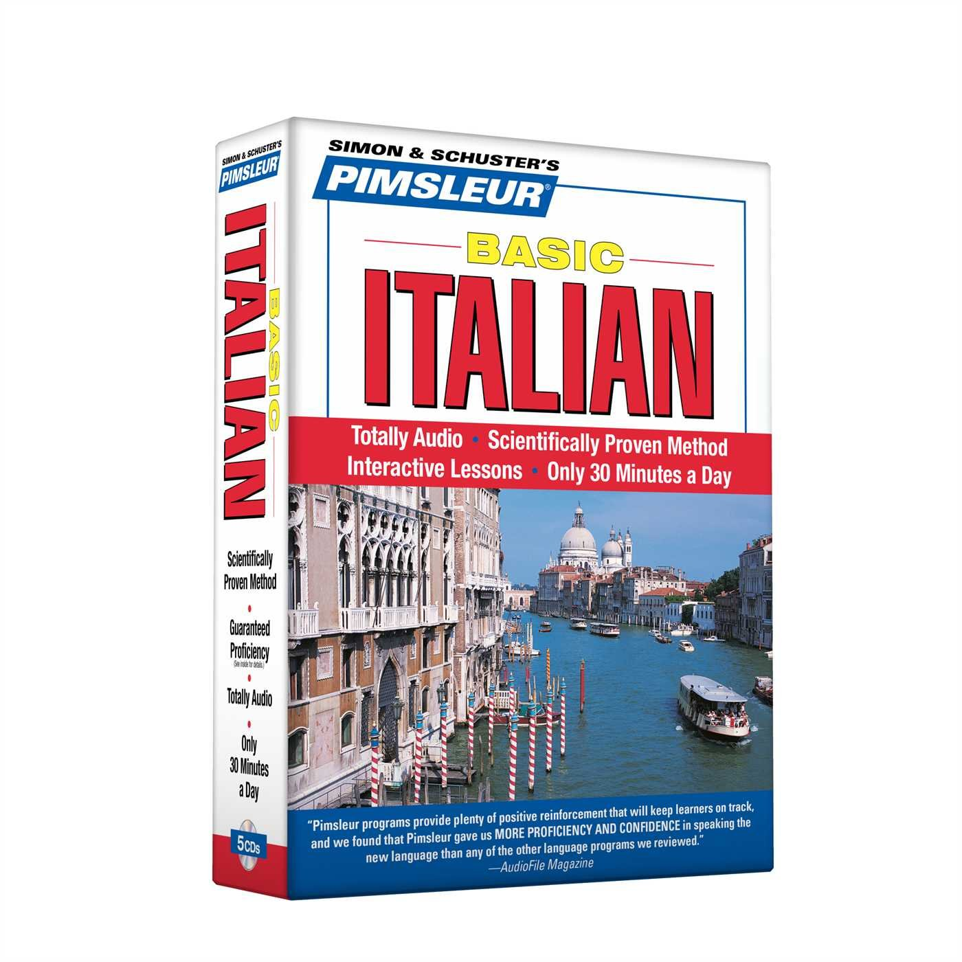 Pimsleur Italian Basic Course - Level 1 Lessons 1-10 CD: Learn to Speak and Understand Italian with Pimsleur Language Programs by Brand: Pimsleur