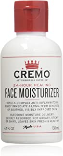 product image for Cremo Face Moisturizer, Astonishingly Superior 24 Hour Face Moisturizer, 4.4 Fluid Ounce (2 Pack)