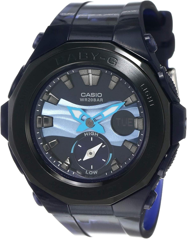 Casio Ladies Watch Baby-G Analog-Digital Sport Quartz BGA-220B-2A