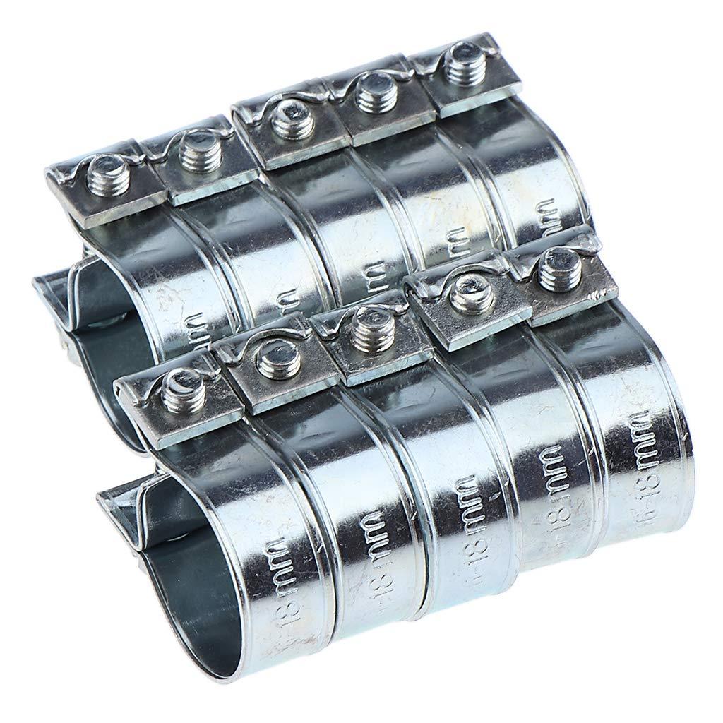 Sharplace 10x Fascette Stringitubo Morsetto Per Tubo Benzina Diesel Marina Auto Accessori 12-14mm