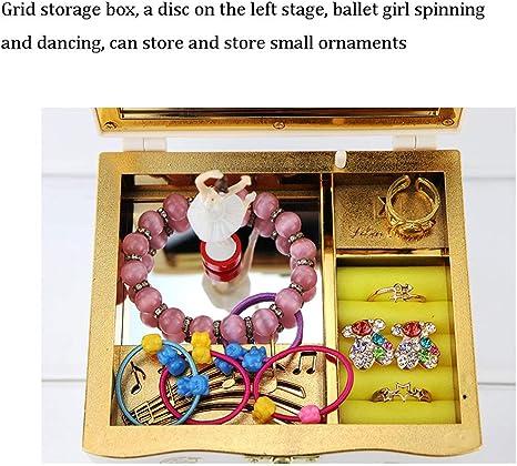 WM Home Caja de música Caja de música Chica Spinning Ballet Niños ...