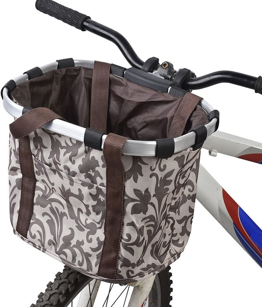 Ducomi Cesta Bicicleta Delantera Universal para Perros Pequeños y ...