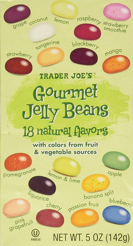 Trader Joe's Gourmet Jelly Beans - 5 Oz (2 Pack)