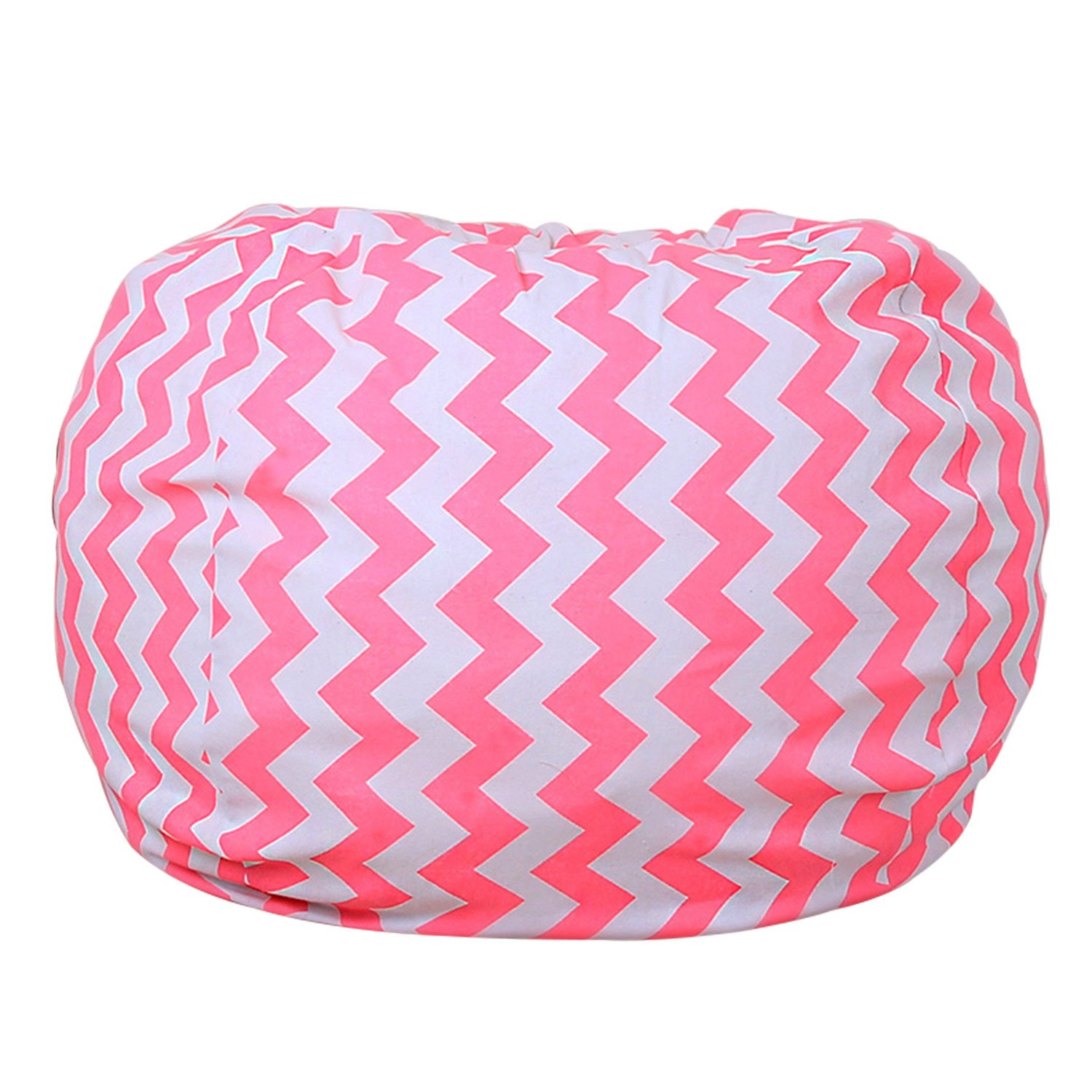 Premium Quality 32 Inch Storage Bean Bag - Stuffed Animal Storage Bean Bag Chair   Perfect Storage Solution For Blankets/Pillows/Towels/Clothes (13)