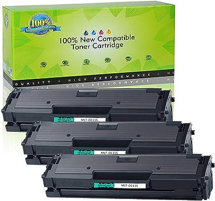 3 Pack MLT-D111S Toner Cartridge for Samsung Xpress M2020W M2070FW Printer