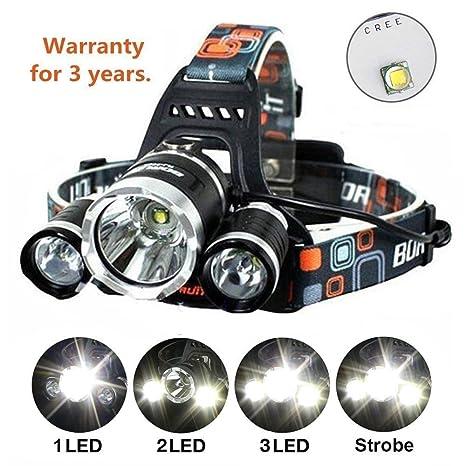 Headlamp Brightest And Best Led Headlamp 8000 Lumen Flashlight