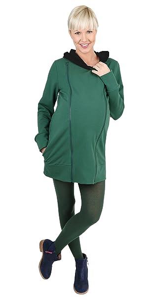 Mama - Jersey de maternidad para mujer/maternidad de color verde de talla