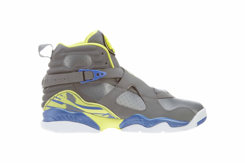 buy popular 1cbf9 01cc2 Amazon.com   Jordan Nike Air 8 Retro (GS) Laney Girls Basketball Shoes  580528-038 Cool Grey 4.5 M US   Basketball