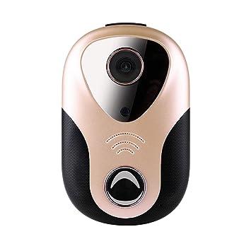 WiFi Video Timbre De Seguridad De La Cámara 720P WiFi Cámara De Vigilancia Inteligente De Seguridad