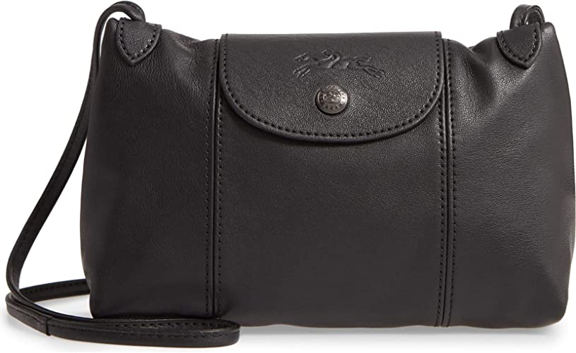 Longchamp Le Pliage Cuir Small Crossbody Leather Shoulder Bag ...
