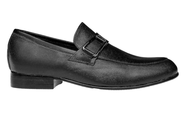 Venettini Boys 55-Ace6 Designer Buckle Slip On Loafers Shoes
