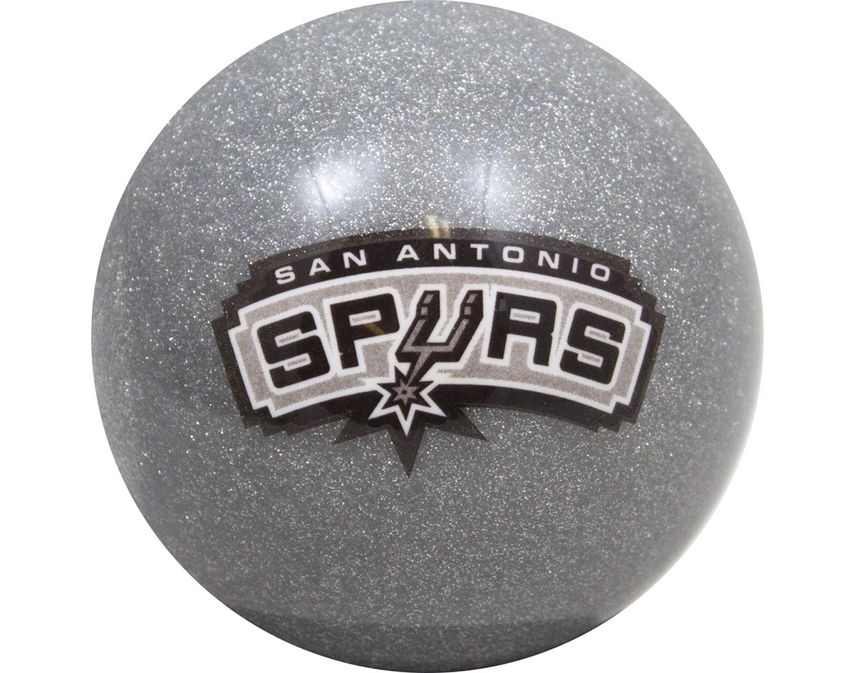 NBA Imperial San Antonio Spurs Pool Billiard Cue/8 Ball - Silver