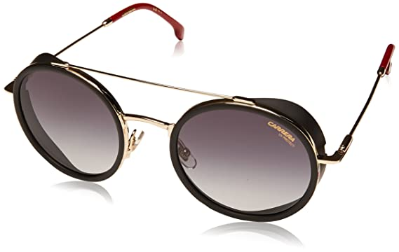 6455c5f9acc9 Amazon.com: Carrera 167/s Round Sunglasses, Gold & Red, 22 mm ...