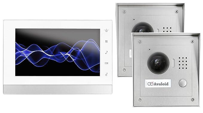 Citofono Esterno Moderno : Goliath ip 2 fili video citofono 1 3 mega pixel fotocamera 7