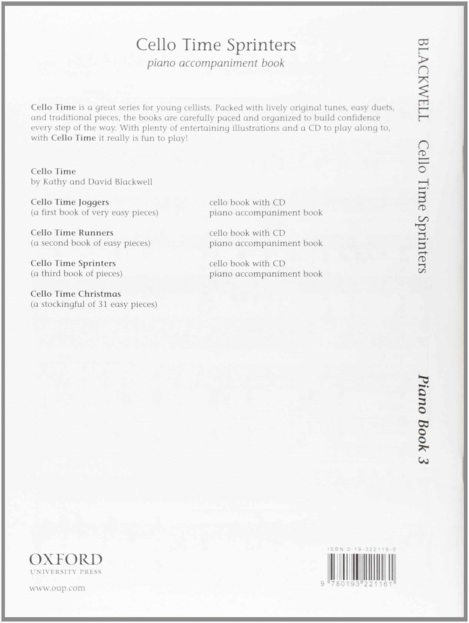 cello time sprinters piano accompaniment book piano part