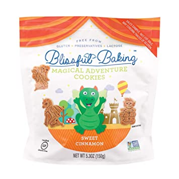 Amazon.com: Blissful, hornear, Cookies; Canela mágico – Pack ...