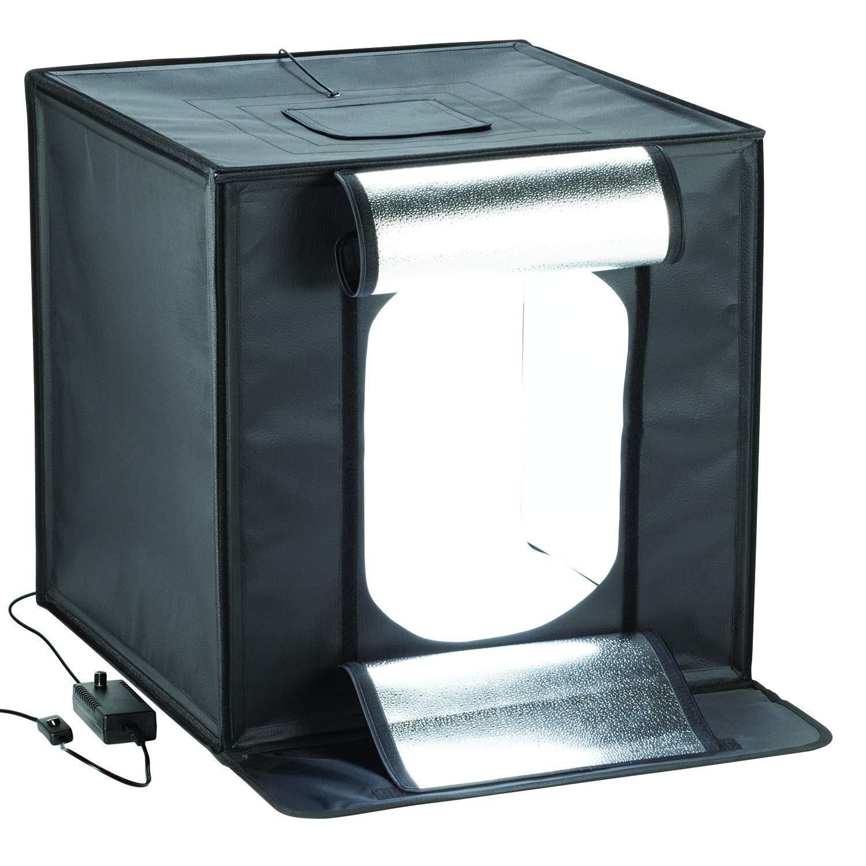Smith-Victor 25'' Desktop LED Light Box Studio Tent 4 Backgrounds & Case by Smith-Victor SV