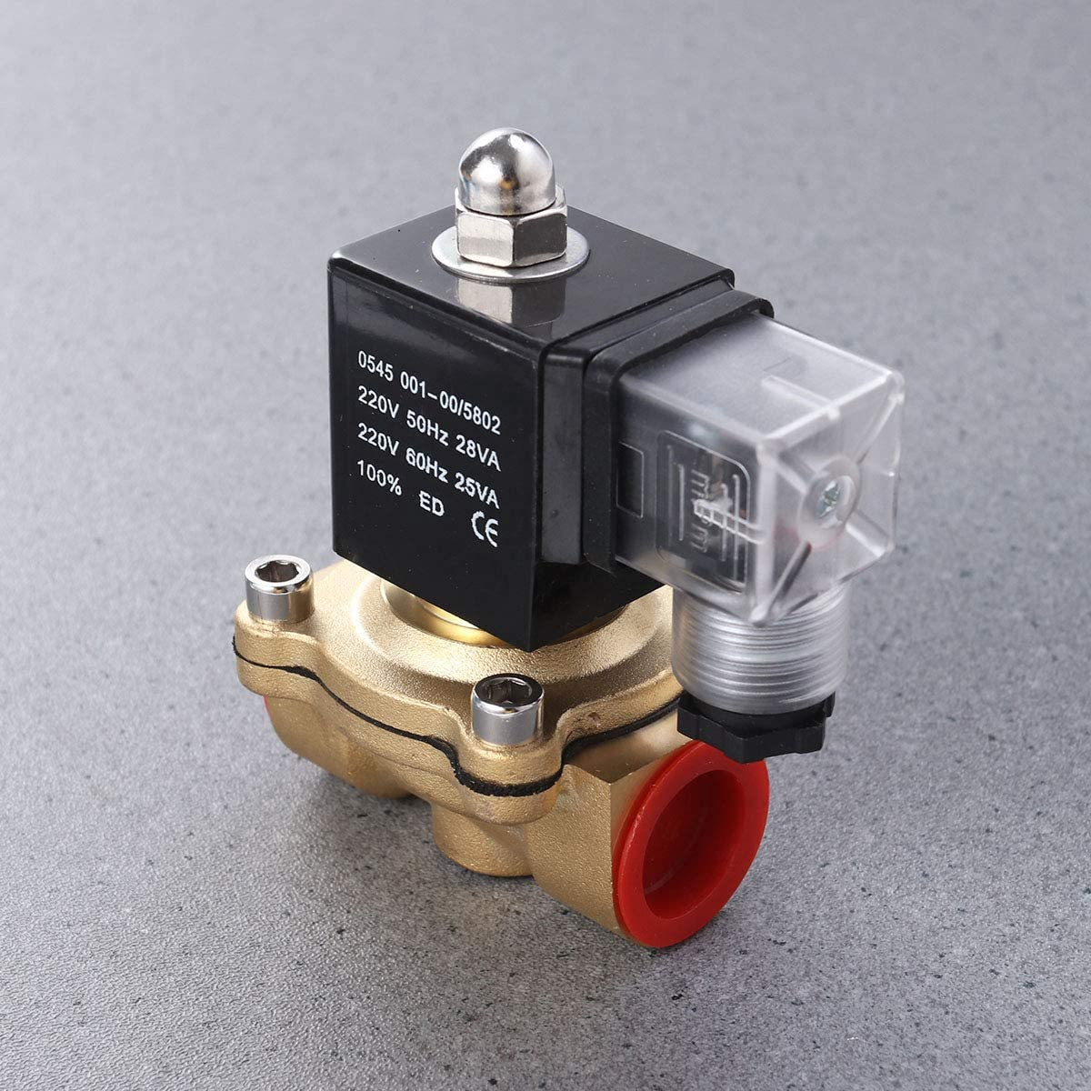 Robuste AC 220V normalement ferm/é sol/éno/ïde /électrique eau /électrovanne /électrique voie entr/ée deau N//C