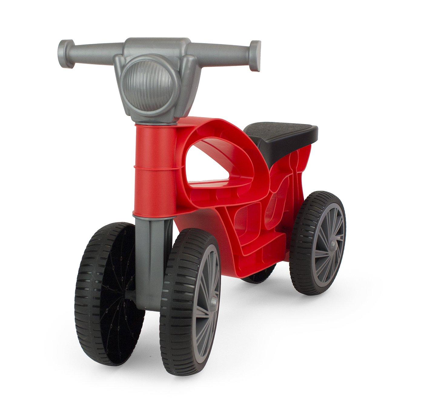 Chicos Correpasillos con 4 Ruedas Color Mini Custom roja Fábrica de Juguetes 36006: Amazon.es: Juguetes y juegos