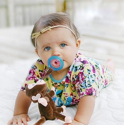 Bebé Alimentación - Nuby - Snoozies chupete Combo Set Mono ...