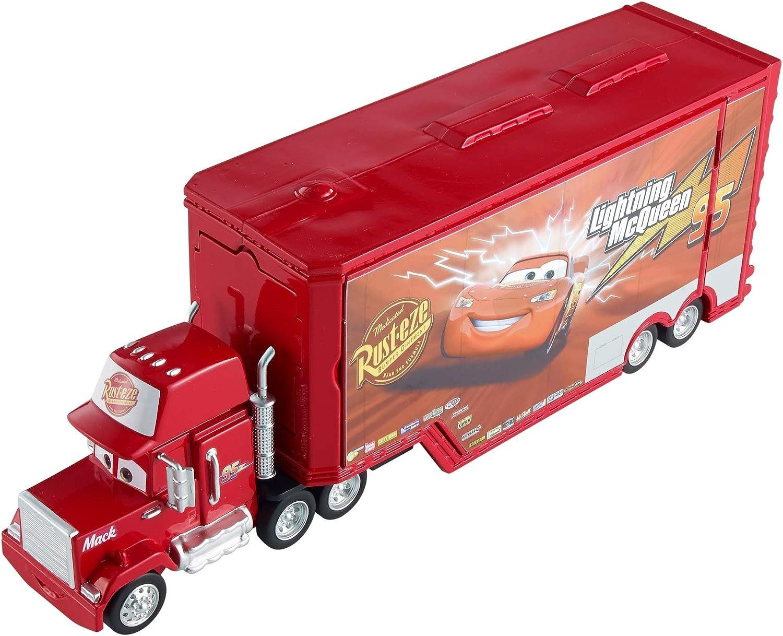 Cars 2 Mack camión 1-2-3, camión de juguete (Mattel DVF39)