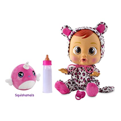 e5009395fdb Amazon.com  Cry Babies Lea Baby Doll Gift Set  Toys   Games