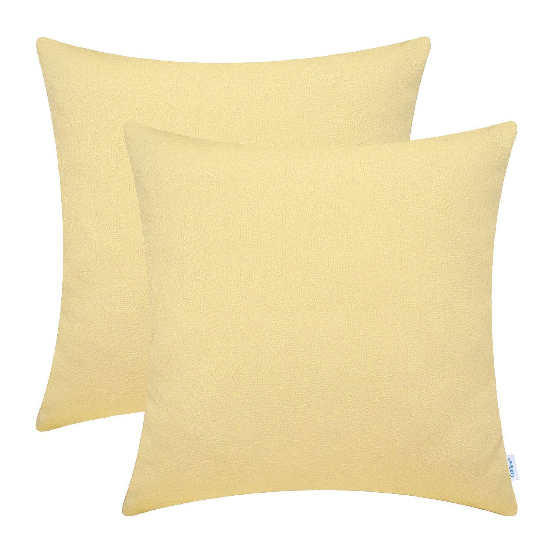 Amazon.com: CaliTime - Juego de 2 fundas de almohada suaves ...