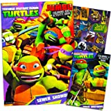 Teenage Mutant Ninja Turtles Coloring and Activity Book Set with Stickers