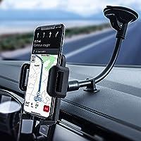 Mpow Soporte Móvil Coche, Sujeta Movil Coche Moviles Brazo Largo Soporte Movil Parabrisas, Soporte Telefonos Moviles…