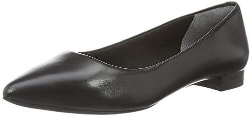 Total Motion Adelyn Ballet, Bailarinas para Mujer, Negro (Black Burn Calf), 38.5 EU Rockport