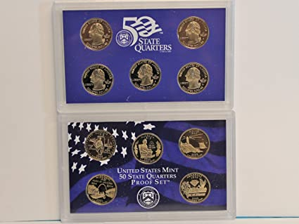 2003 Silver State Quarter 5pc Proof Set with Government Packaging /& COA