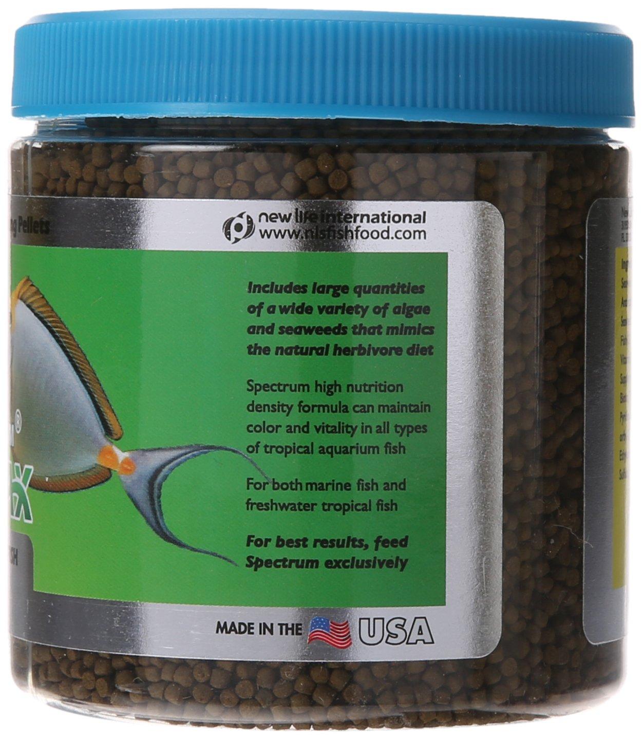 Herbivorous freshwater aquarium fish - Amazon Com New Life Spectrum Algaemax 2mm Enhanced Algae Pellet Pet Food 250gm Pet Supplies